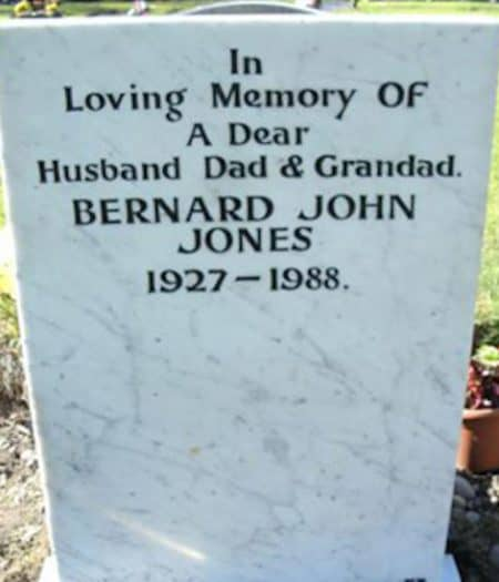 A marble headstone after re-carving and cleaning by our dedicate and talented team.