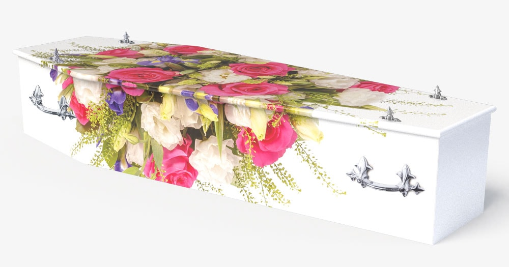 Coffin -Floral