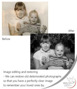 Image editing and restoring